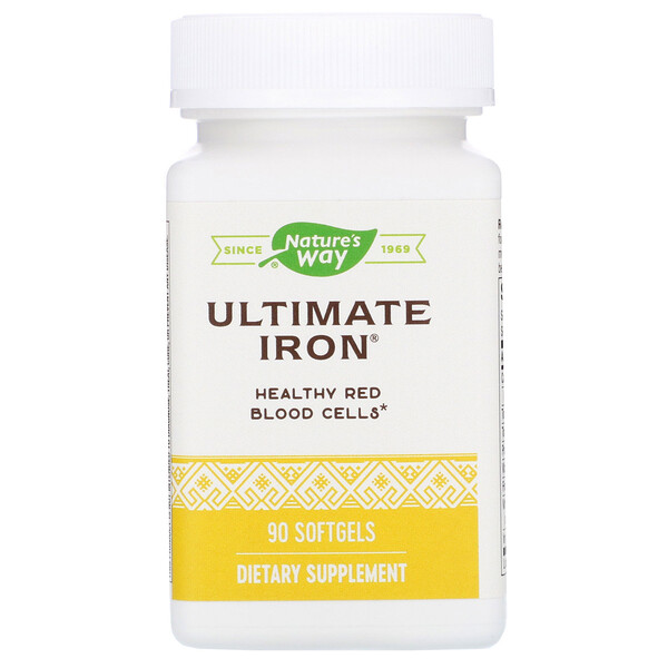 Ultimate Iron, 90 Softgels