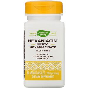 Натурес Вэй, HexaNiacin, 590 mg, 60 Vegan Capsules отзывы