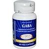 Enzymatic Therapy, GABA, мозг/память, 60 растительных капсул
