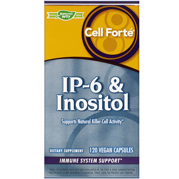 Cell Forté, IP-6 & Inositol, 120 Vegan Capsules