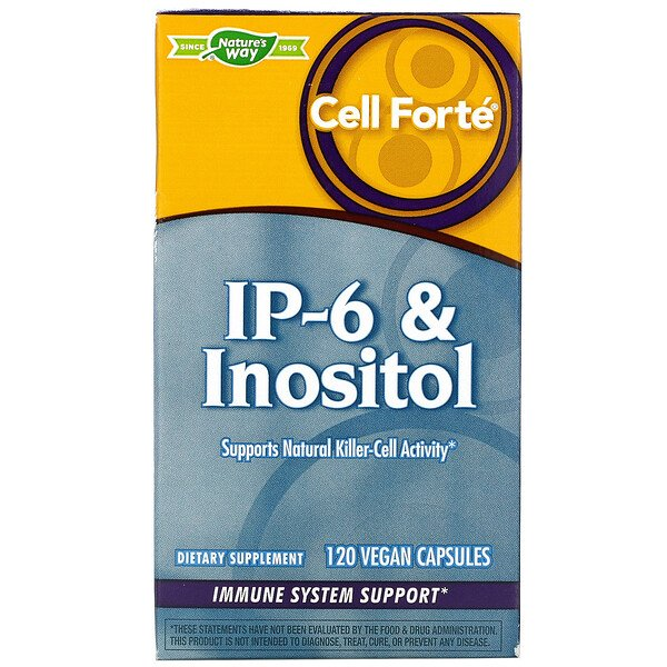 Nature's Way, Cell Forté, IP-6 & Inositol, 120 Vegan Capsules