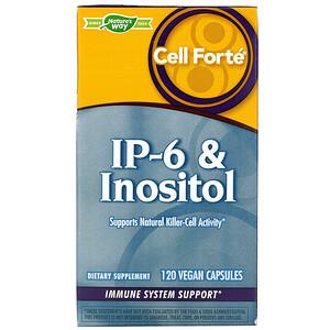 Натурес Вэй, Cell Forte, IP-6 & Inositol, 120 Vegan Capsules отзывы