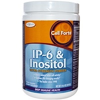 Cell Forte, IP-6 и инозитол, Ультра cила, порошок, цитрусовый аромат, 14,6 унций (414 г) - фото