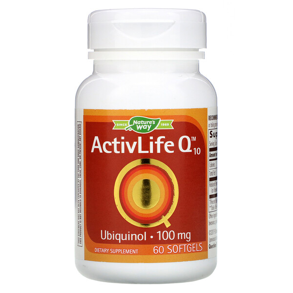 ActivLife Q10, 100 mg, 60 Softgels