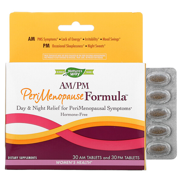 AM/PM PeriMenopause Formula, 60 Tablets