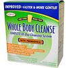 Enzymatic Therapy, Whole Body Cleanse, Complete 10-Day Cleansing System, Lemon Flavored, 3 Piece Kit (Discontinued Item)