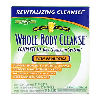 Enzymatic Therapy, Полное Очищение Организма, 10-Дневная Очищающая Система, Вкус Лимона набор из 3