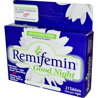 Enzymatic Therapy, Remifemin, Good Night, 21 Tabletten