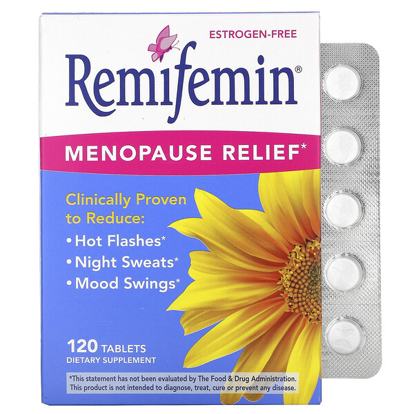 Remifemin, Menopause Relief, 120 Tablets