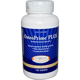 Enzymatic Therapy, OsteoPrime Plus, 120 Tablets