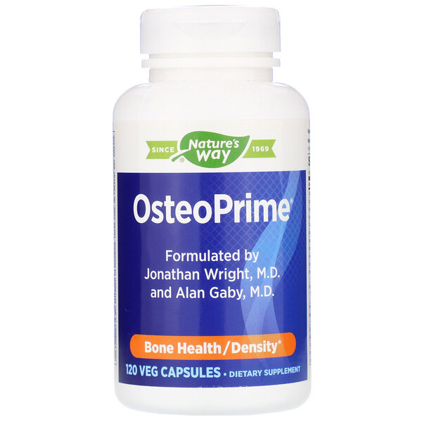 Nature's Way, OsteoPrime, Bone Health, 120  Veg Capsules