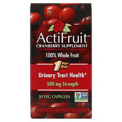 Enzymatic Therapy, ActiFruit 蔓越莓補充劑,30 粒素食膠囊