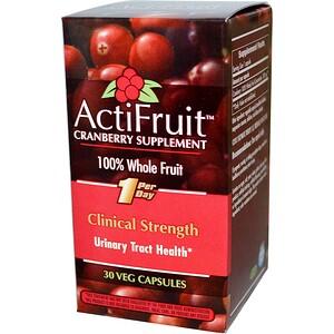 Энзайматик Терапи, ActiFruit Cranberry Supplement, 30 Veg Capsule отзывы