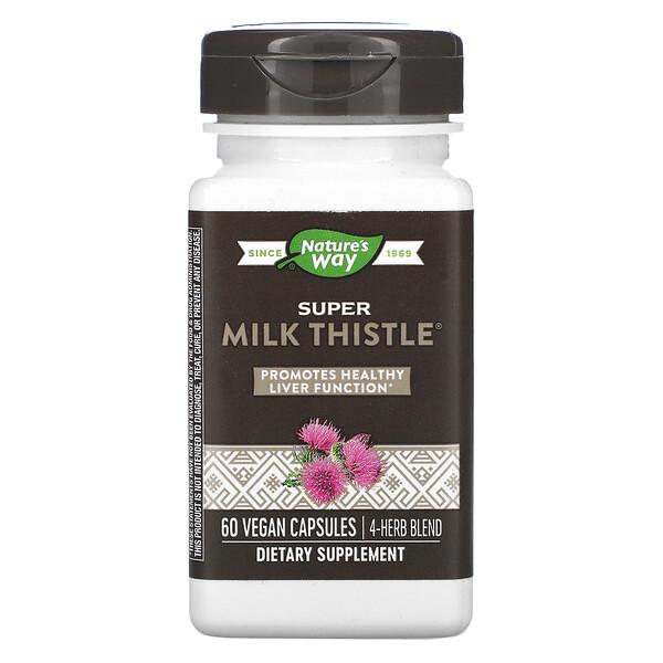 Super Milk Thistle, 60 Vegan Capsules