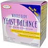 Enzymatic Therapy, Whole Body Yeast Balance, Triple-Action Internal Cleansing System, 3 Part Program (Discontinued Item)