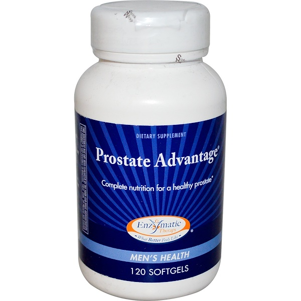Enzymatic Therapy, Prostate Advantage, Men's Health, 120 Softgels (Discontinued Item)