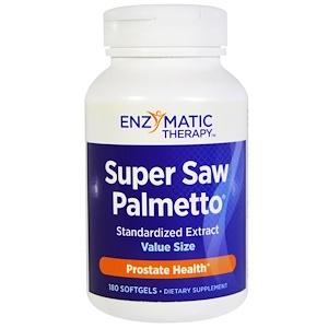 Энзайматик Терапи, Super Saw Palmetto, Standardized Extract, 180 Softgels отзывы