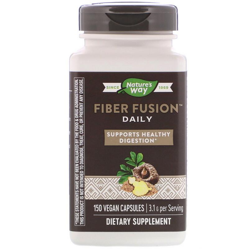 Fiber Fusion Daily, 3.1 g, 150 Vegan Capsules