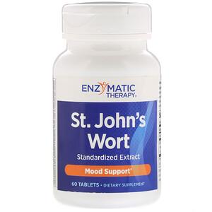 Энзайматик Терапи, St. John's Wort, 60 Tablets отзывы