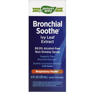 Nature's Way, Bronchial Soothe 支氣管舒緩劑,常春藤葉補充劑,3.4液量盎司(100毫升)