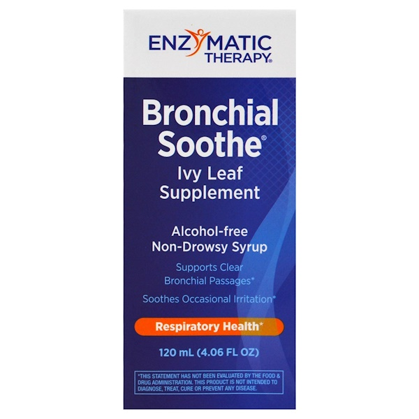 Enzymatic Therapy, Bronchial Soothe, Ivy Leaf Supplement, 4.06 fl oz (120 ml)