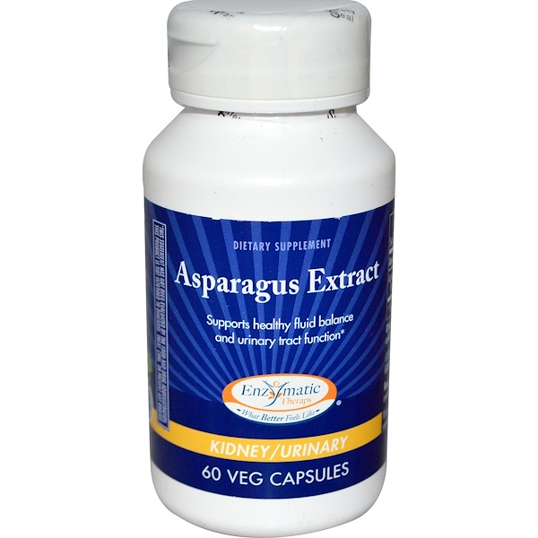 Enzymatic Therapy, Asparagus Extract, 60 Veggie Caps (Discontinued Item)