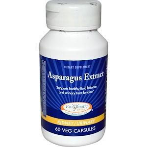 Энзайматик Терапи, Asparagus Extract, 60 Veggie Caps отзывы покупателей