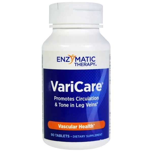 Enzymatic Therapy, VariCare, 90 Tablets (Discontinued Item)