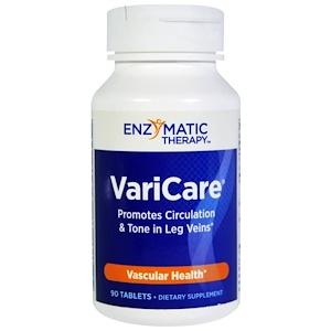 Энзайматик Терапи, VariCare, 90 Tablets отзывы