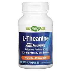 Enzymatic Therapy, 茶氨酸,180 粒素食膠囊