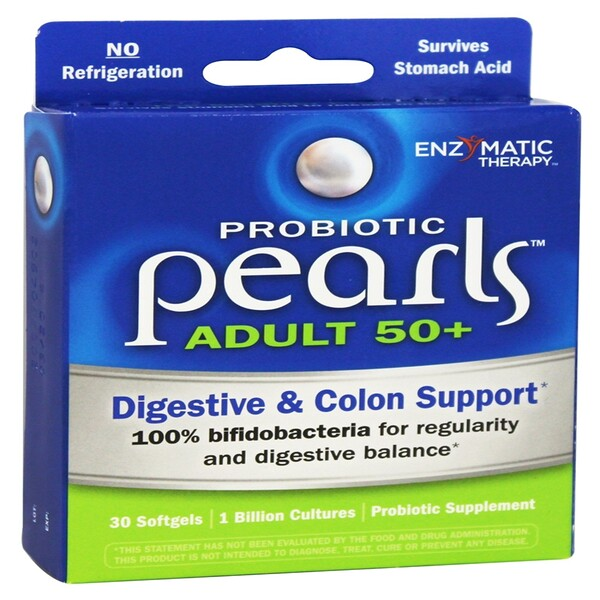Probiotic Pearls Adult 50+, 30 Softgels