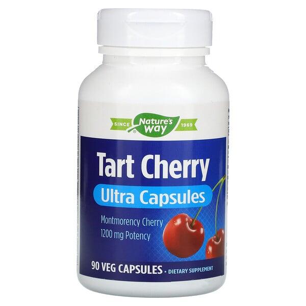 Tart Cherry, Ultra Capsules, 1,200 mg, 90 Veg Capsules
