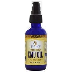 Emu Gold, 鴯鶓油,全天然,超活性,2液量盎司