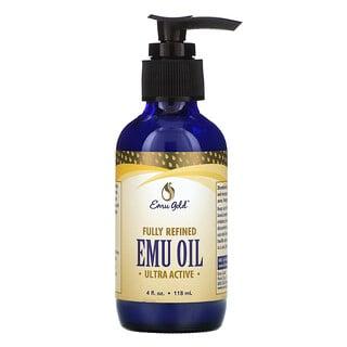 Emu Gold, Fully Refined Emu Oil, Ultra Active, 4 fl oz (118 ml)