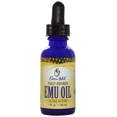 Купить Emu Gold Масло Эму, 1 жидкая унция (30 мл)