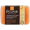 Eclair Naturals, 手作りソープ、バニラ&スイートオレンジ、6オンス (170 g)