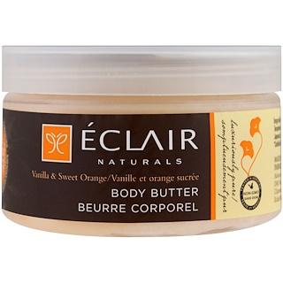 Eclair Naturals, Body Butter, Vanilla & Sweet Orange, 4 oz (113 g)