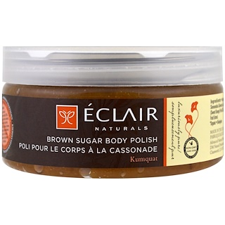 Eclair Naturals, ブラウンシュガーボディポリッシュ、9オンス (255 g)