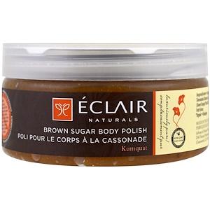 Эклэр Нэчуралс, Brown Sugar Body Polish, 9 oz (255 g) отзывы