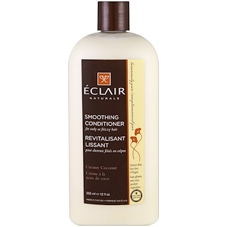 Eclair Naturals, Smoothing Conditioner, Creamy Coconut, 12 fl oz (355 ml)