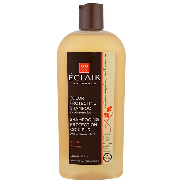 Eclair Naturals, Color Protecting Shampoo, Mango, 12 fl oz (355 ml) (Discontinued Item)