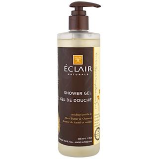 Eclair Naturals, Гель для душа, Витаминизирующий, Масло ши и овес, 12 унций (355 мл)