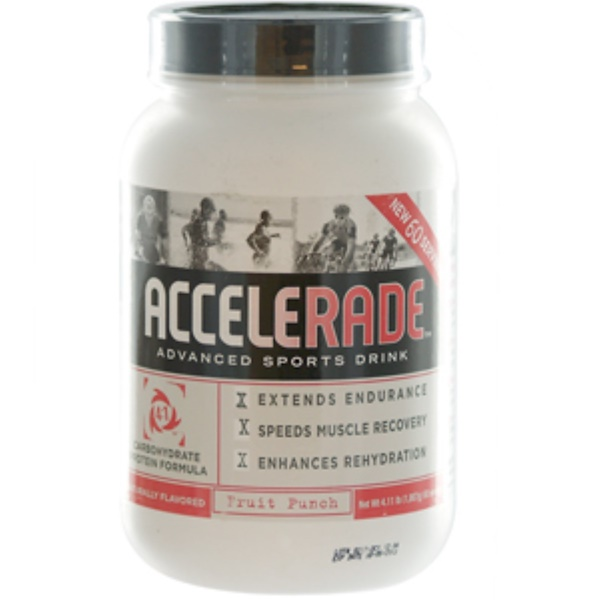 Pacific Health Inc., Accelerade, Advanced Sports Drink, Fruit Punch, 4.11 lbs (1,867 g) (Discontinued Item)