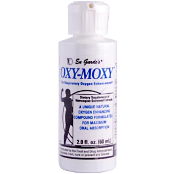 En Garde, Oxy-Moxy, Oxygen Enhancing Supplement, 2 fl oz (60 ml) (Discontinued Item)
