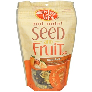 Enjoy Life Foods, Not Nuts! Seed & Fruit Mix, Beach Bash, 6 oz (170 g)