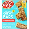 Enjoy Life Foods, Baked Chewy Bars, SunSeed Crunch, 5 Bars, 1 oz (28 g) Each