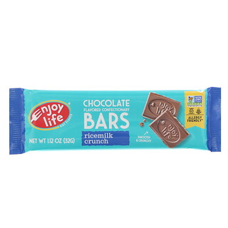 Enjoy Life Foods, Chocolate Flavored Confectionary Bars, Ricemilk Crunch, 1.12 oz (32 g)