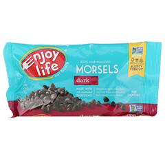 Enjoy Life Foods, 常規尺寸零食,黑巧克力,9盎司(255克)
