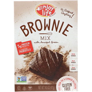 Enjoy Life Foods, Brownie Mix with Ancient Grain, 14.5 oz (411 g)