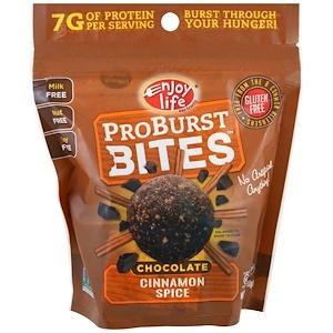 Энджой Лайф фудс, ProBurst Bites, Chocolate Cinnamon Spice, 6.4 oz (180 g) отзывы